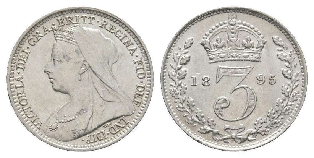 Victoria - 1895 - Threepence
