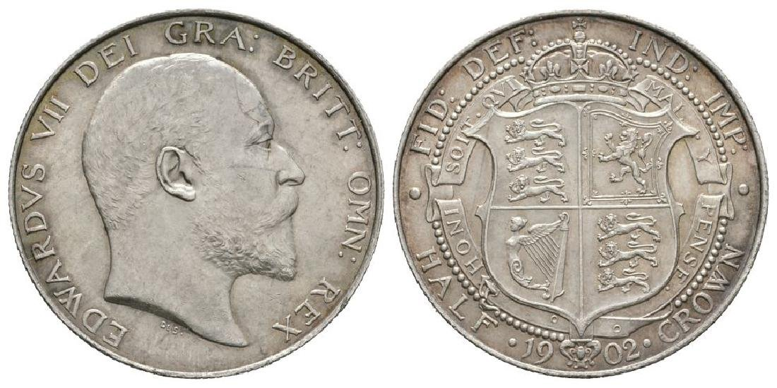 Edward VII - 1902 - Halfcrown