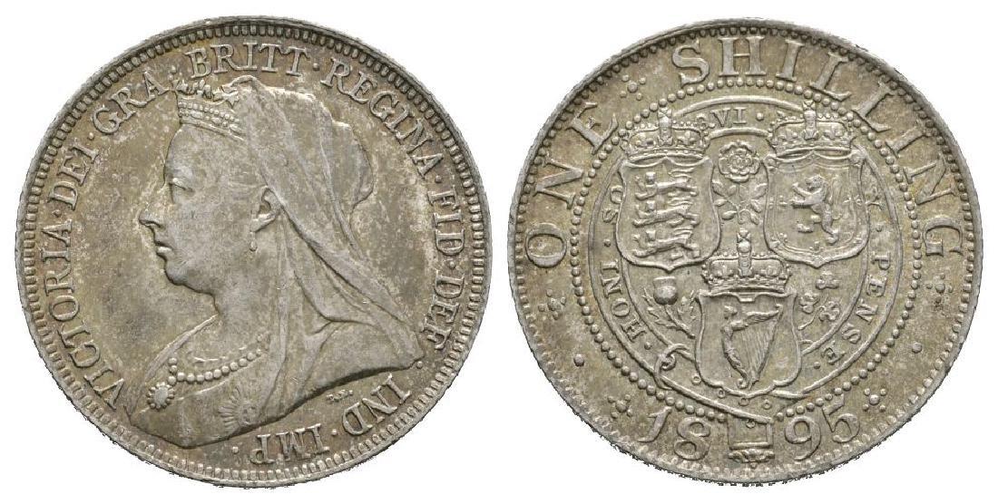 Victoria - 1895 -Shilling