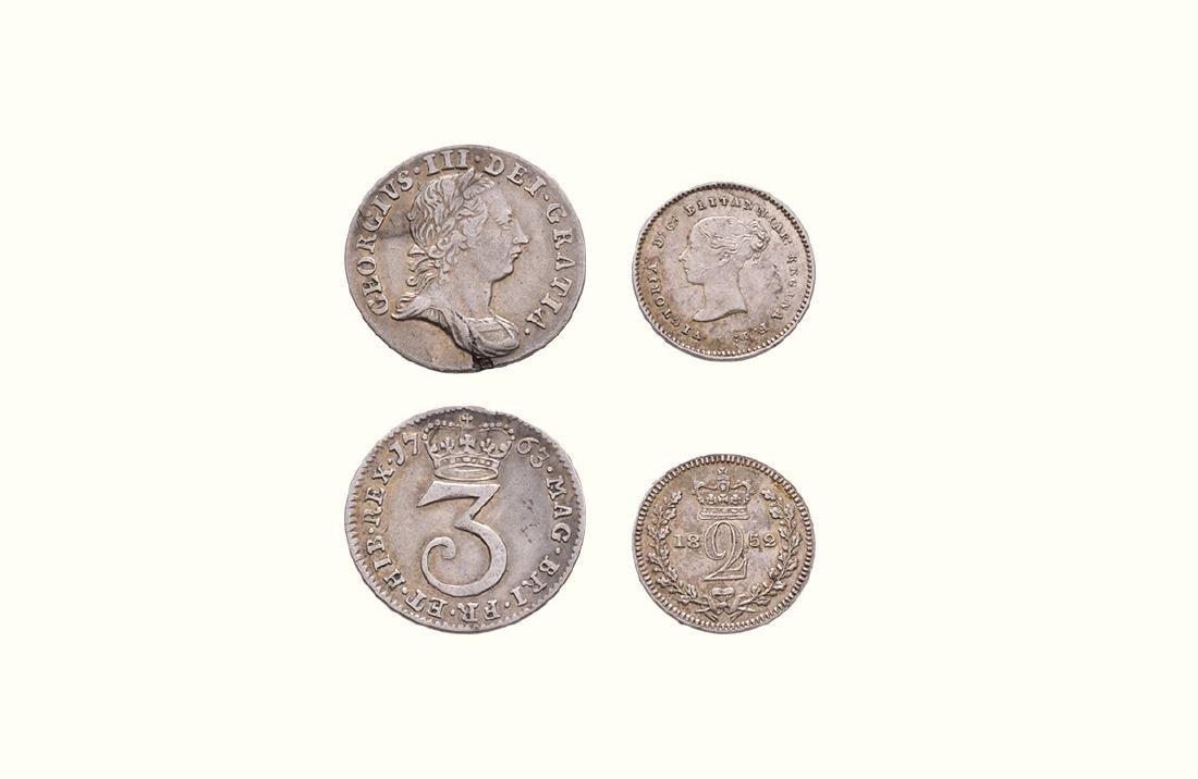 George III & Victoria - 1763 & 1852 - Maundy [2]