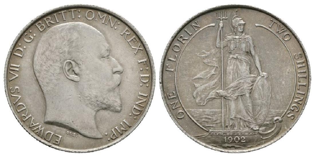 Edward VII - 1902 - Florin