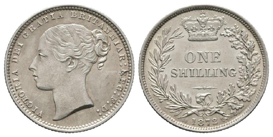 Victoria - 1872 Die 38 - Shilling