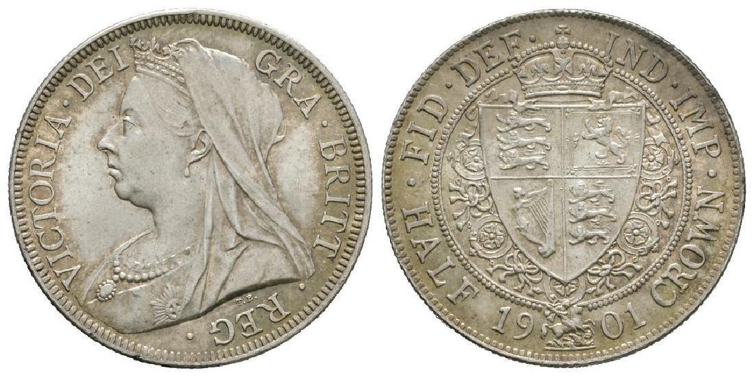Victoria - 1901 - Halfcrown