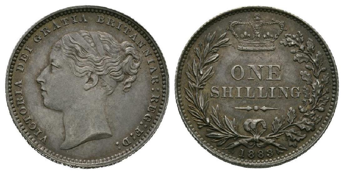 Victoria - 1883 - Shilling