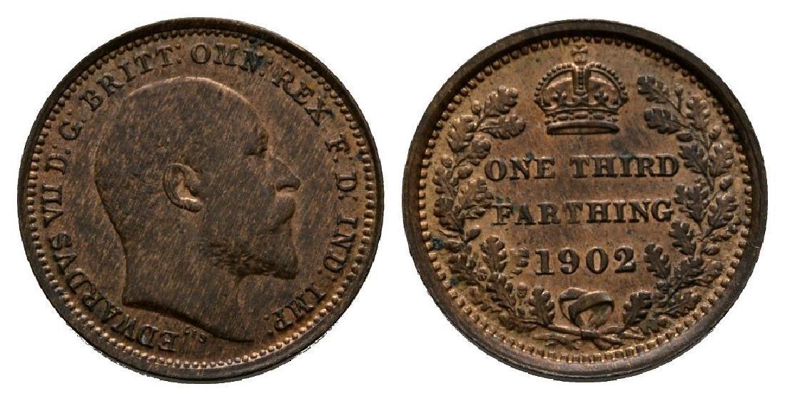 Edward VII - 1902 - 1/3 Farthing