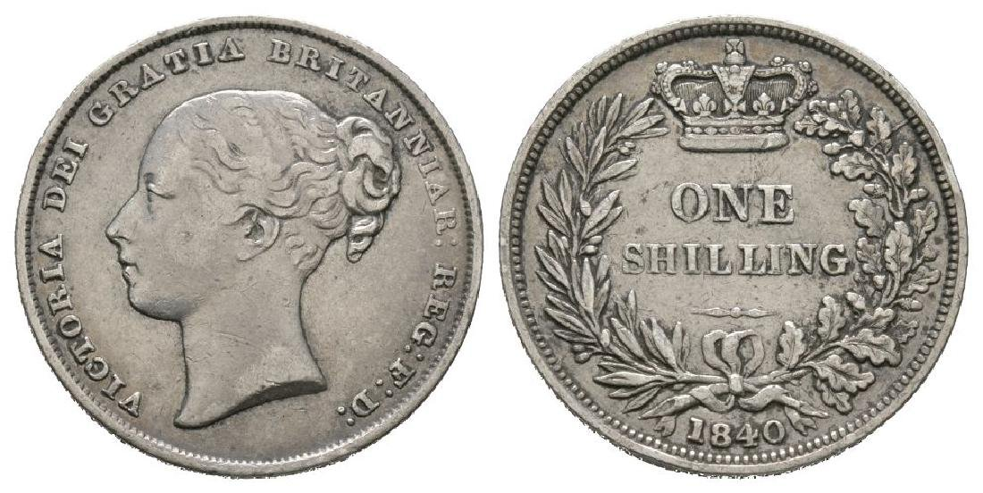 Victoria - 1840 - Shilling