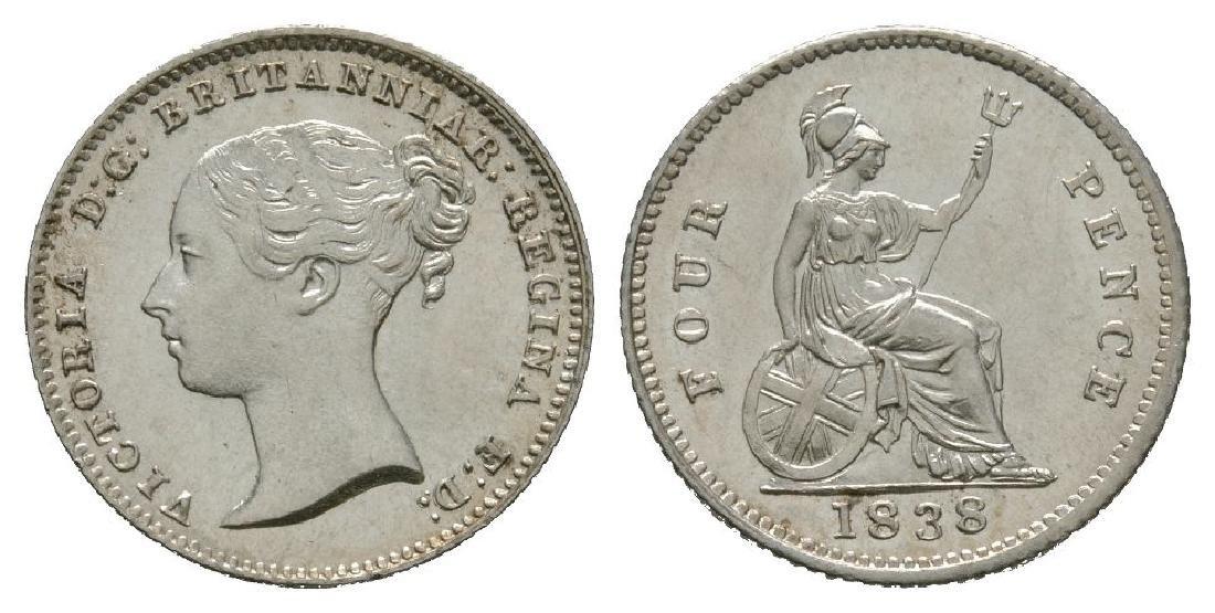 Victoria - 1838 - Groat