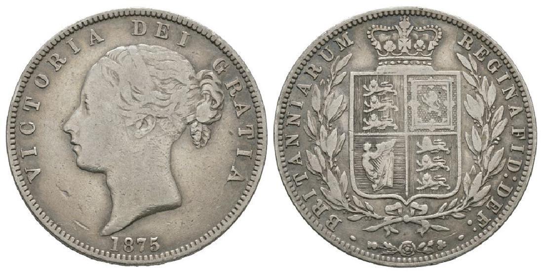 Victoria - 1875 - Halfcrown