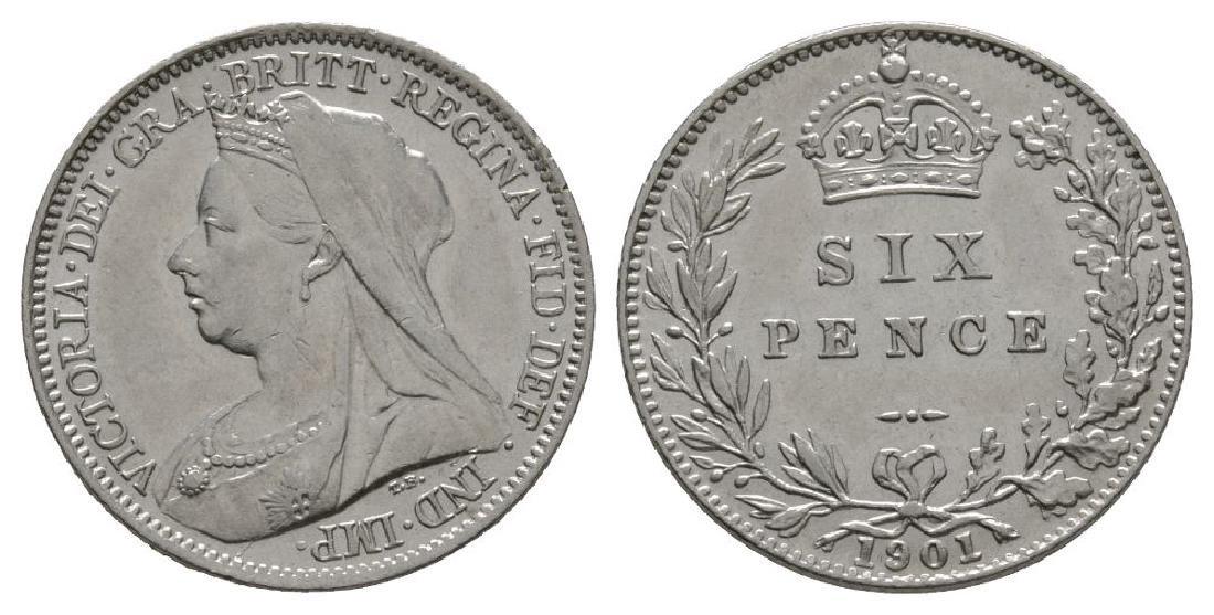 Victoria - 1901 - Sixpence