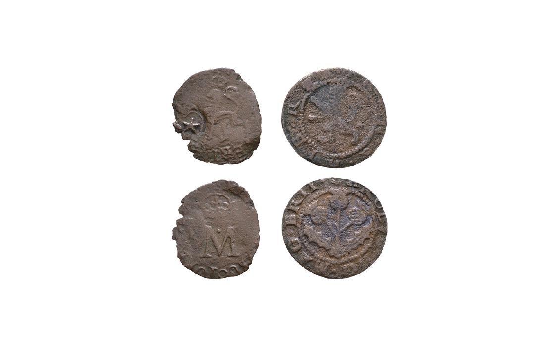 Scotland - James VI & Charles I - C/M Lion & 2d
