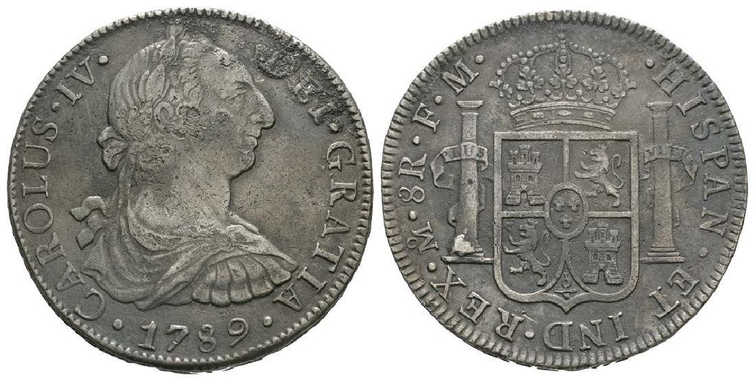 Mexico - 1789 - Pillar 8 Reales
