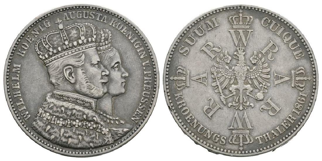 Germany - Prussia - 1861 - Coronation Thaler