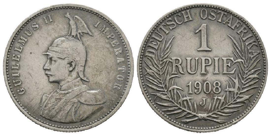 German East Africa - 1908 J - Rupie