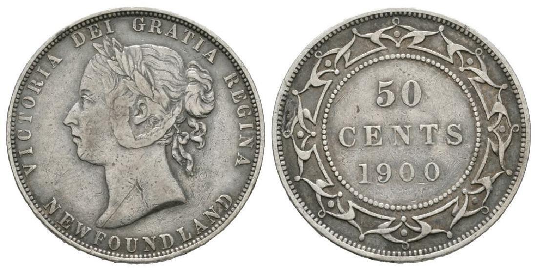 Canada - Newfoundland - 1900 - 50 Cents