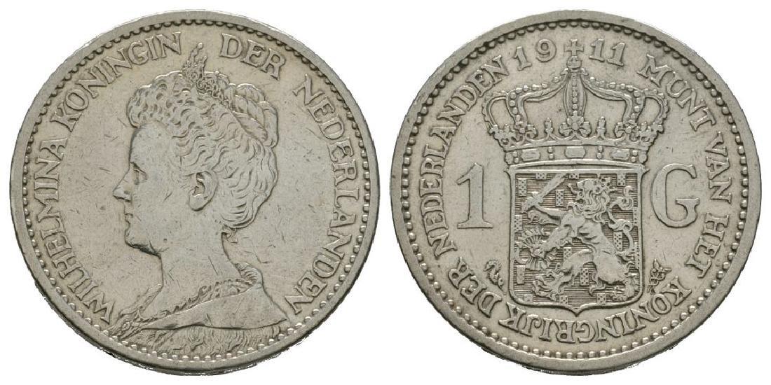 Netherlands - 1911 - 1 Gulden