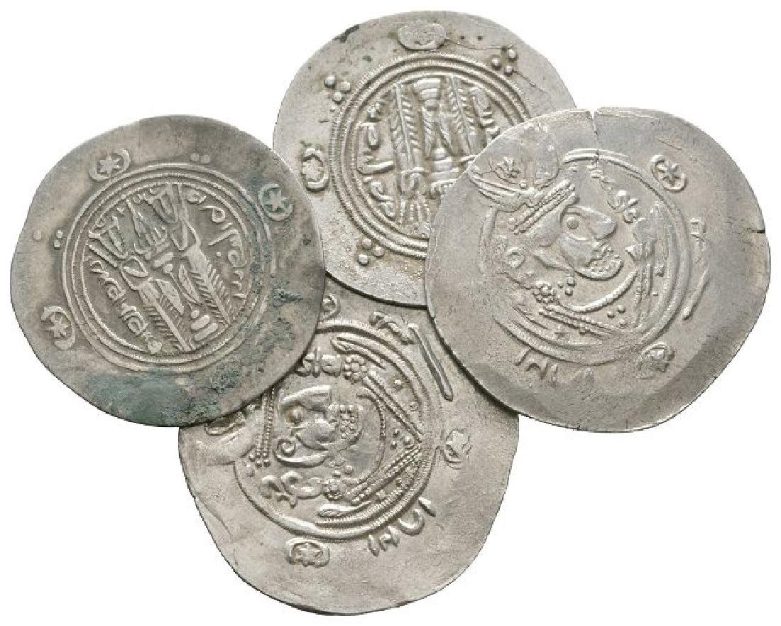 World Coins - Arabo-Sassanian - 1/2 Dirhams [4]