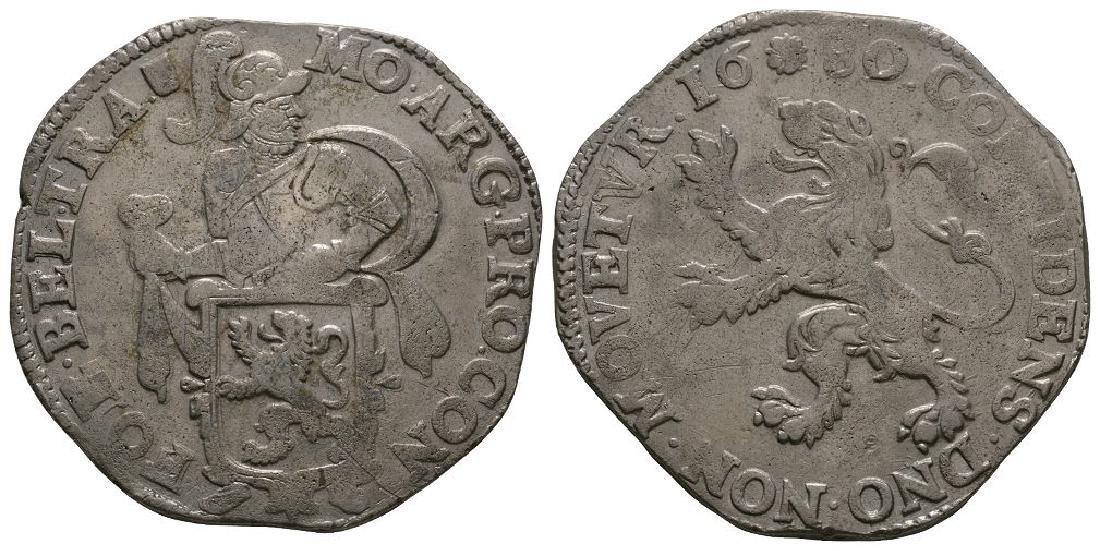World Coins - Netherlands - 1680 - Lion Daalder