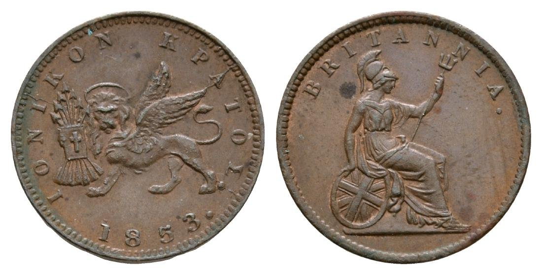 World Coins - Ionian Islands - 1853 - Lepton