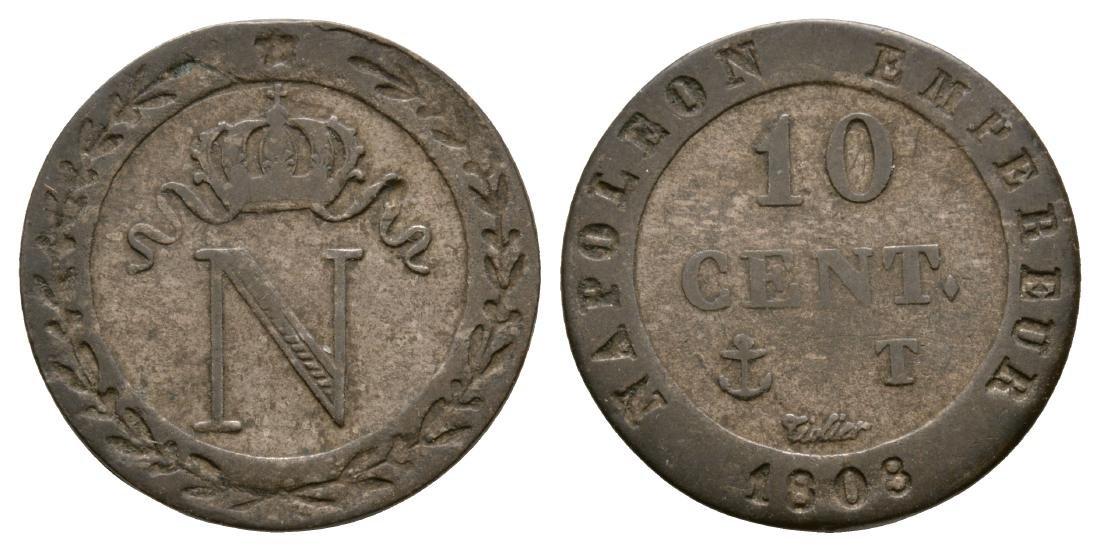 France - Napoleon - 1808 - 10 Cent