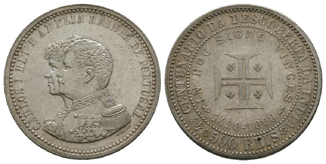 Portugal - 1898 - 400th Anniversary 500 Reis