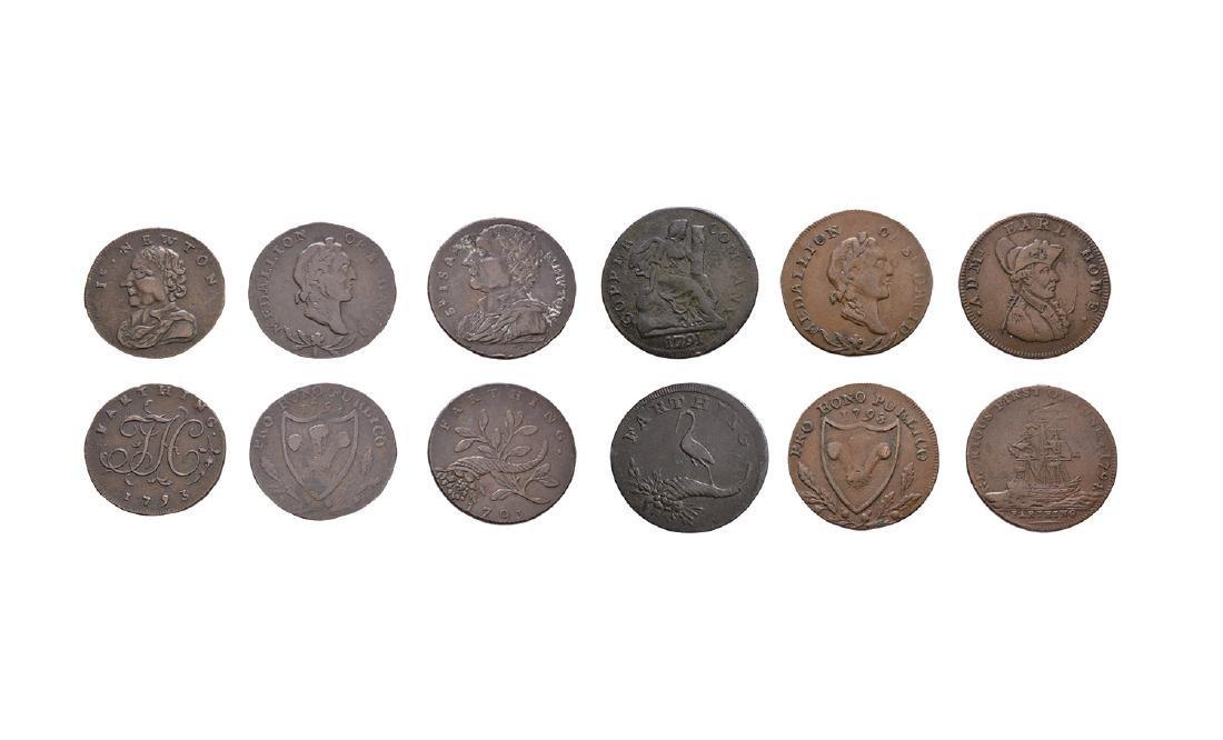 18th Century - Token Farthings [6]