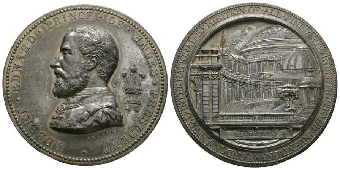 Edward VII - 1873 - Fine Arts Gilt Medal