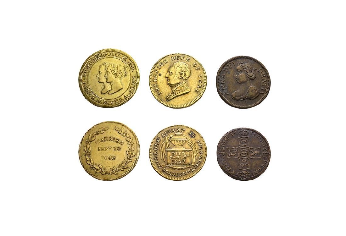 Anne, Duke of York and Victoria - Medallions [3]