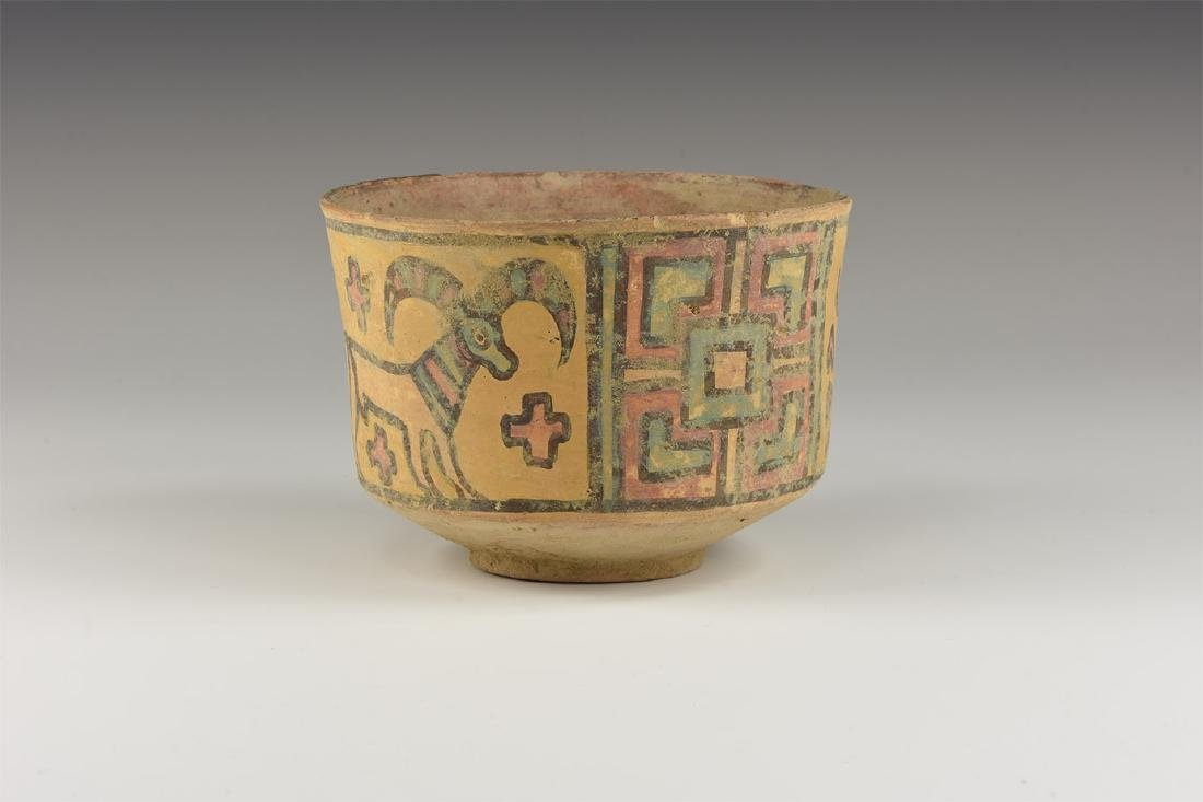 Indus Valley Mehrgarh Polychrome Cup
