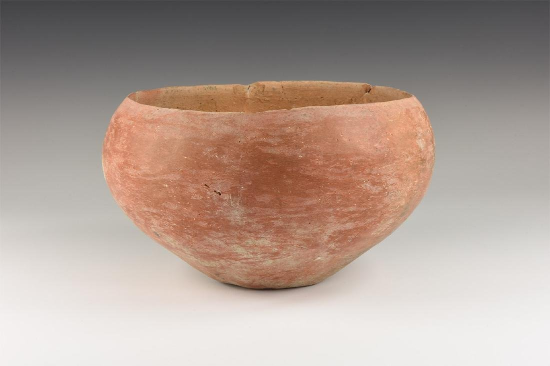 Romano-Celtic Redware Bowl