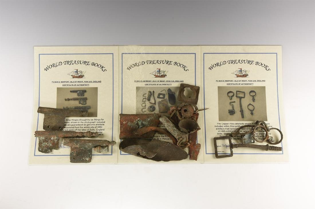 HMS Association Shipwreck Collection
