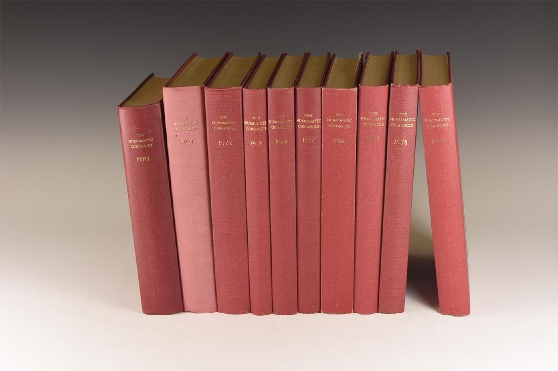Books - Numismatic Chronicle 1970-1979 [10]