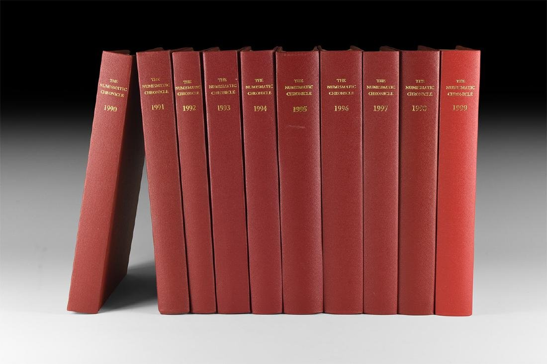 Books - Numismatic Chronicle 1990-1999 [10]