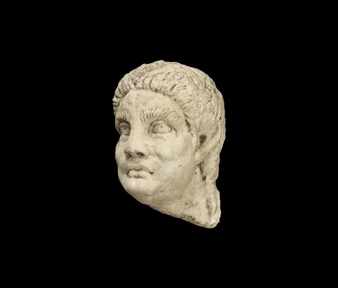 Roman Style Marble Head