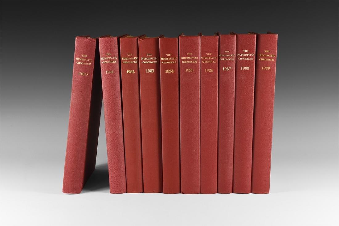 Books - Numismatic Chronicle 1980-1989 [10]