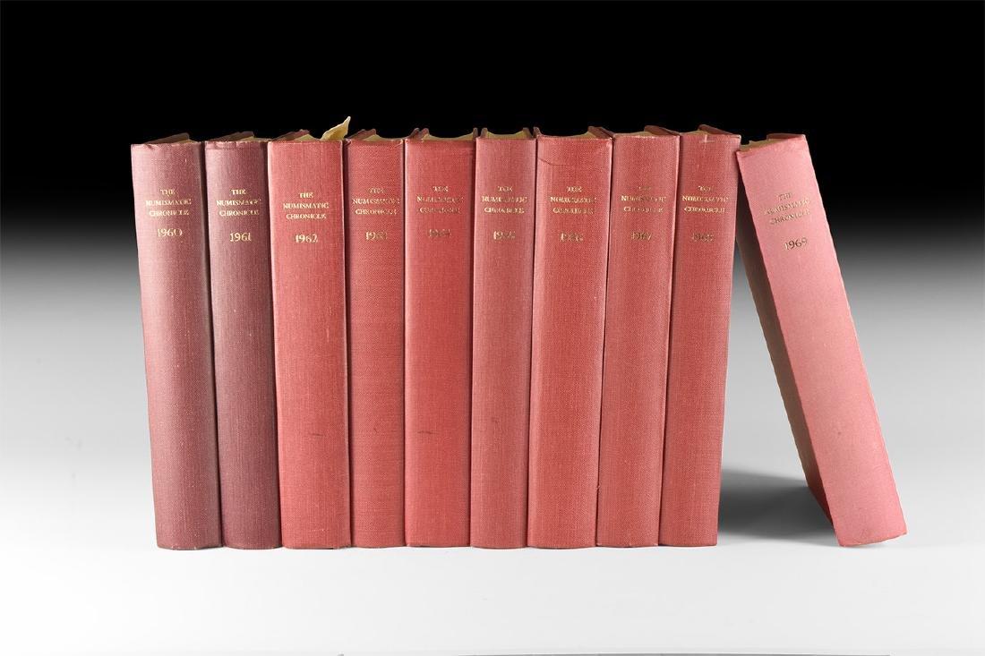 Books - Numismatic Chronicle 1960-1969 [10]