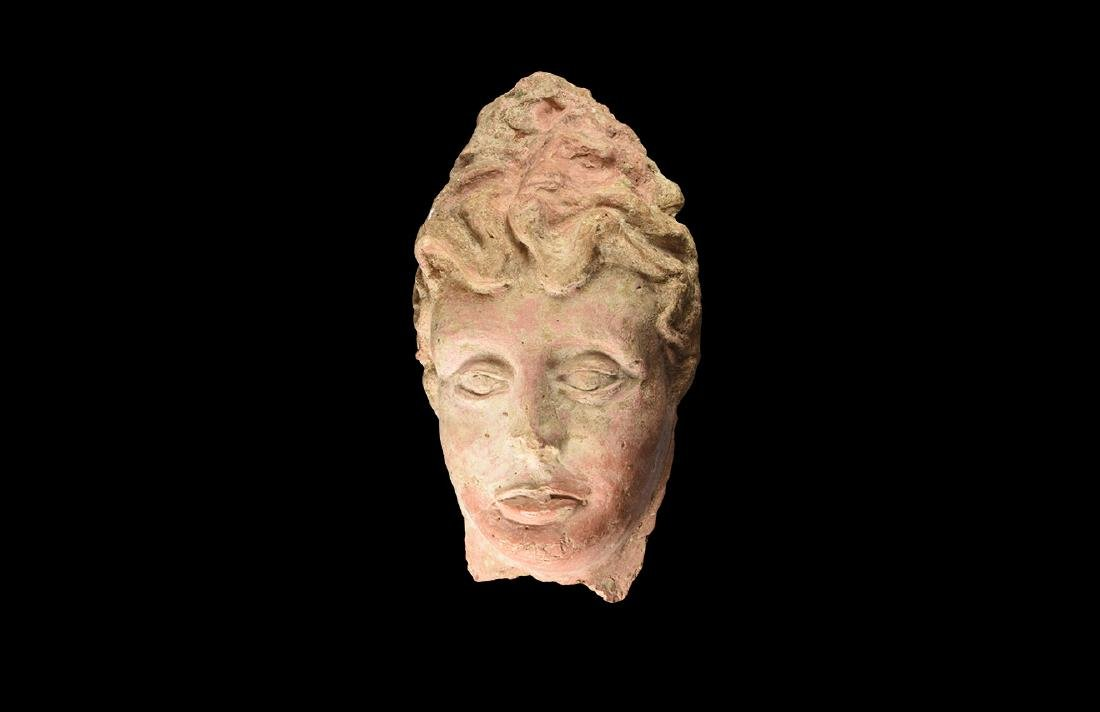 Greek Grand Tour Terracotta Face
