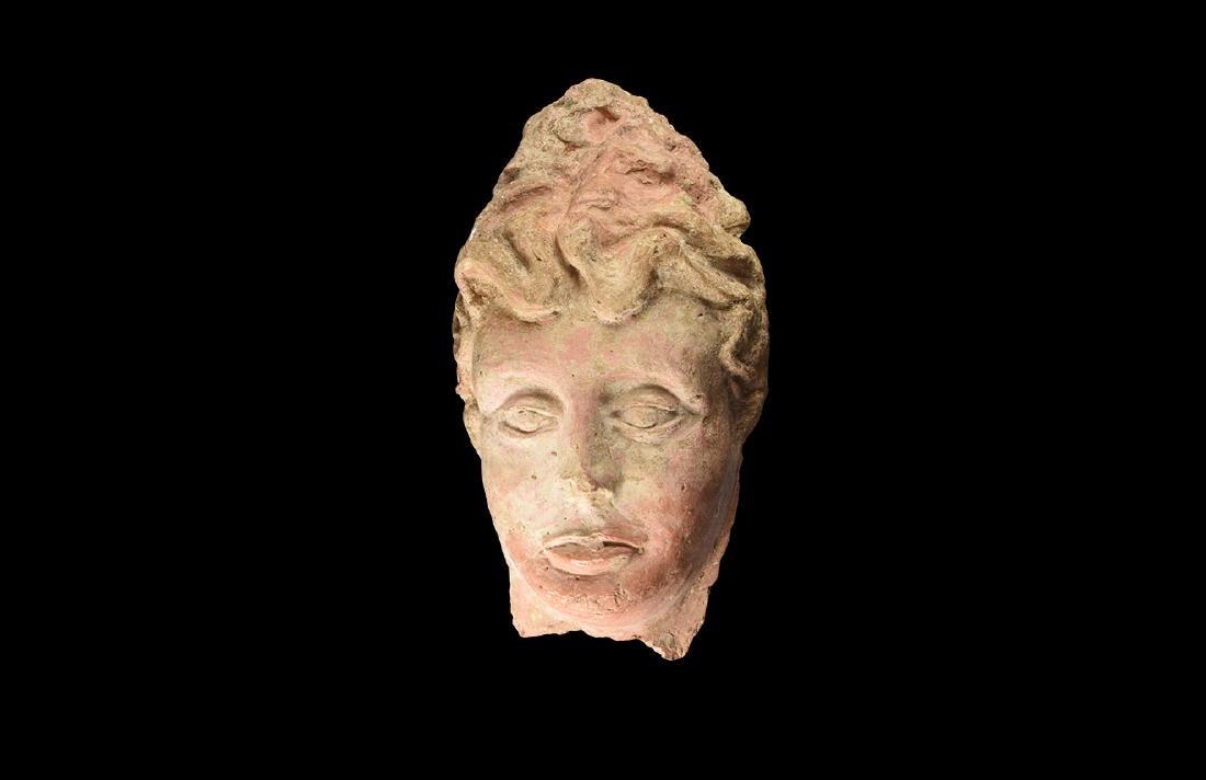 Greek Grand Tour Terracotta Face