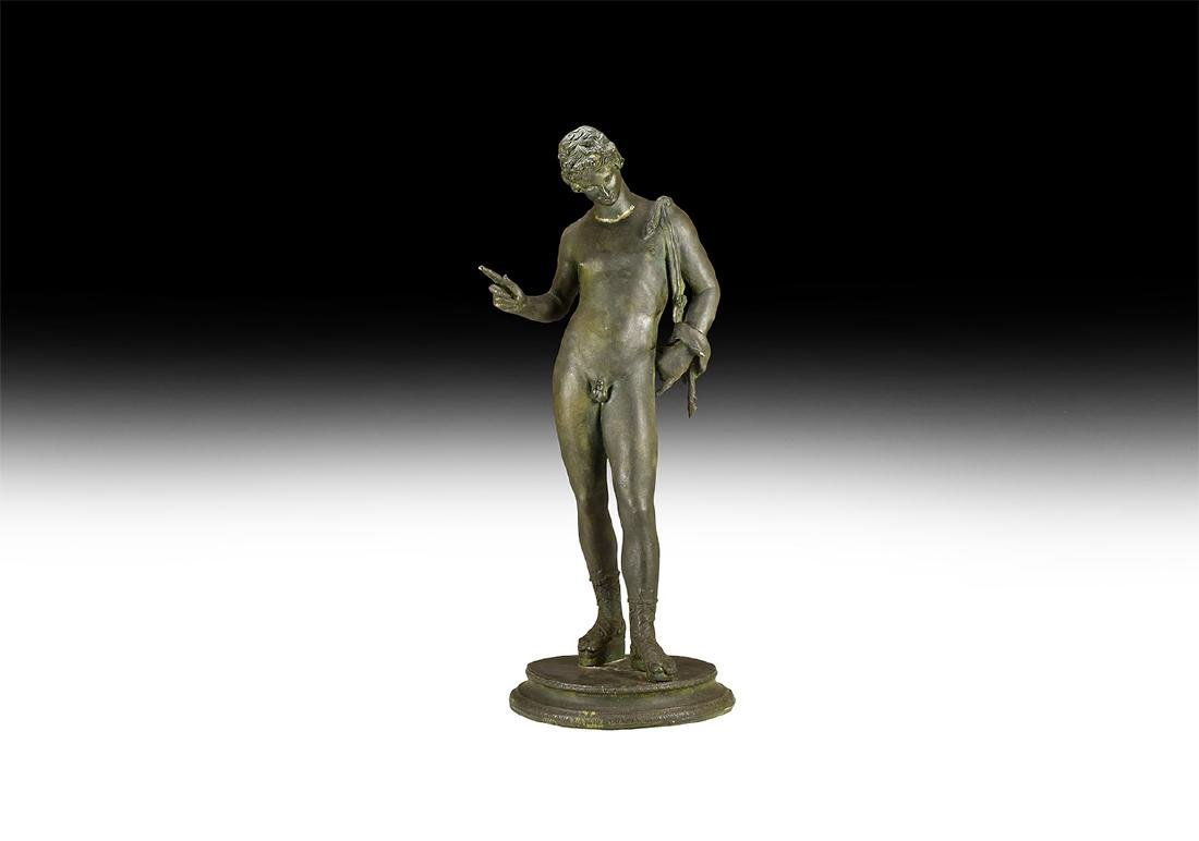 Post Medieval Statue of Narcissus