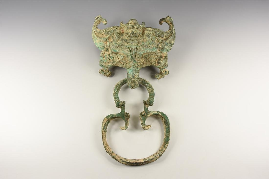 Chinese Door Knocker with Dragon.