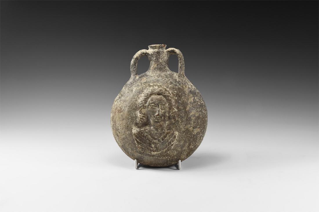 Byzantine Grand Tour Pilgrim's Flask