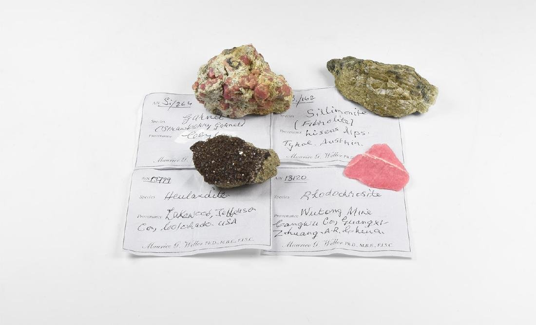 Natural History - Mineral Specimen Group.