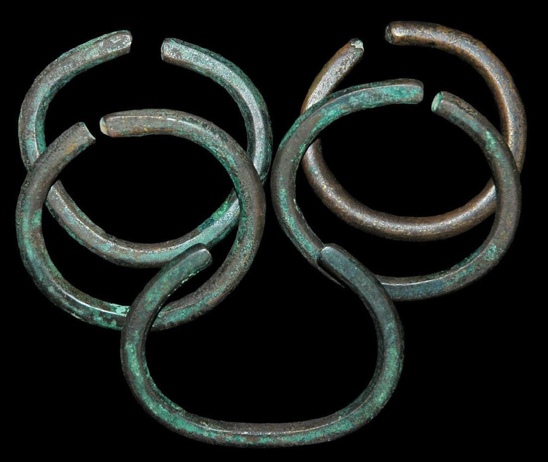 North America Copper Trade Bracelets Group