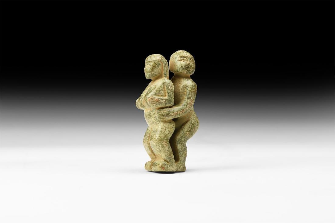 Chinese Erotic Couple Figurine