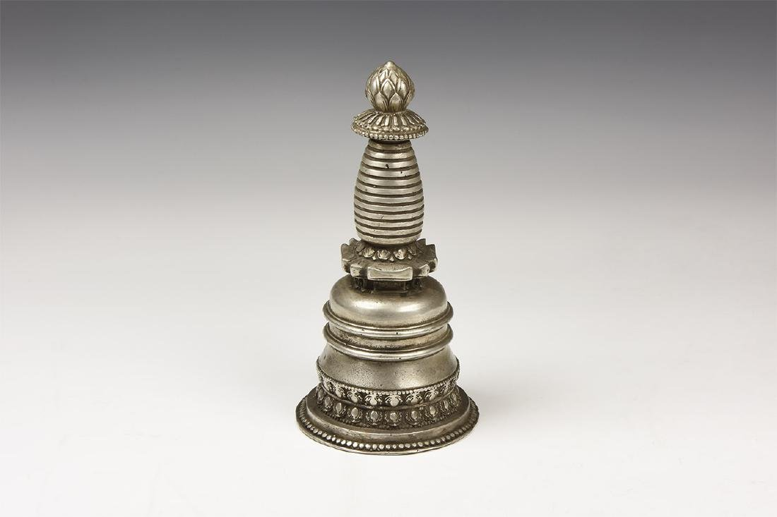 Chinese Metal Stupa
