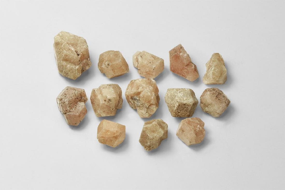Natural History Garnet Crystal Group.