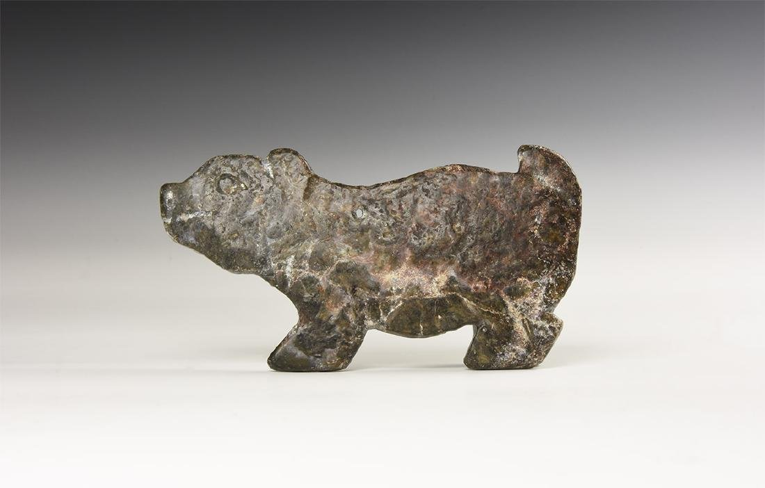 Chinese Carved Animal Plaque