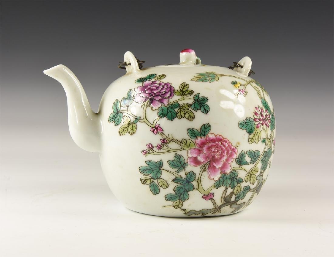 Chinese Style Glazed Teapot