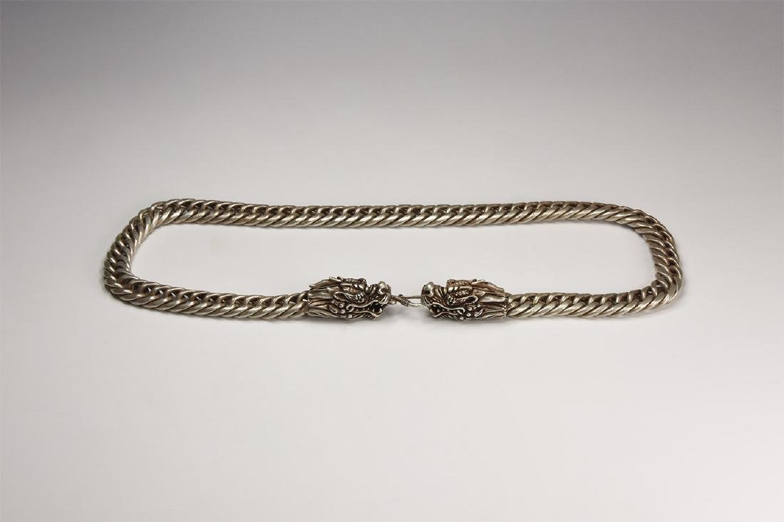 Chinese Dragon-Head Neck Chain
