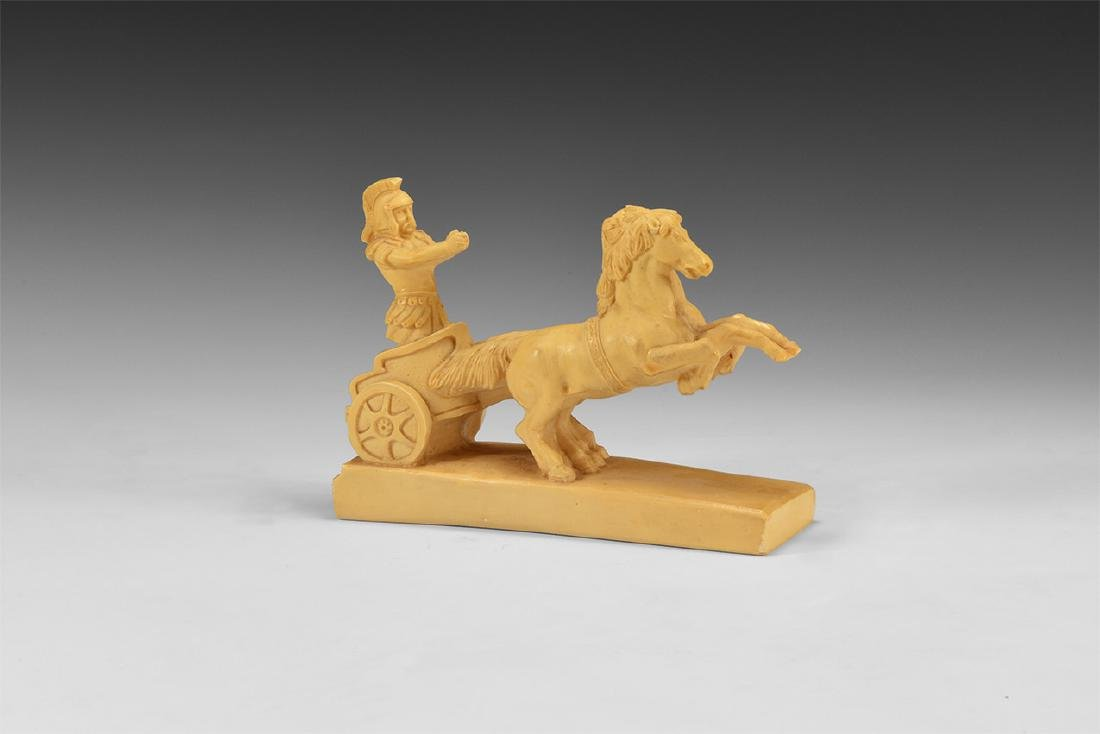 Roman Style Charioteer Figure