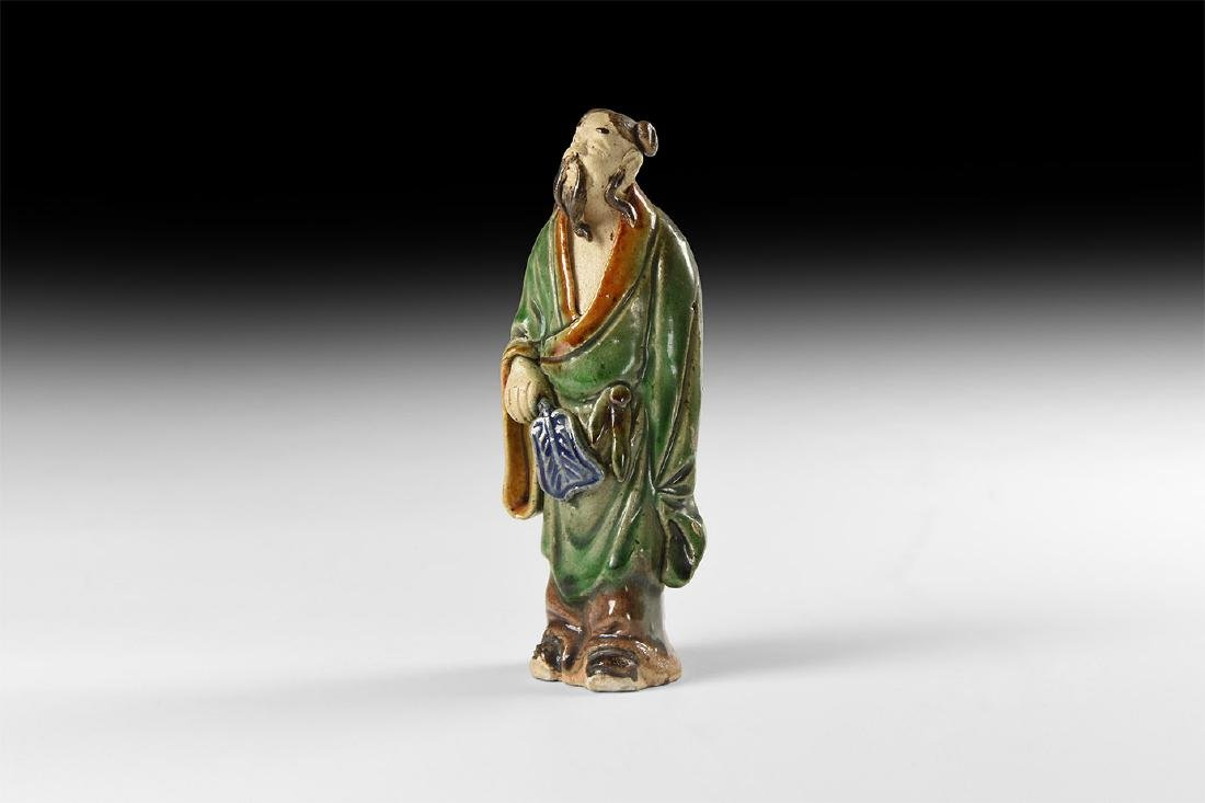 Chinese Glazed Statuette